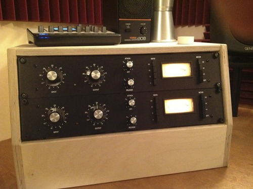 Threecircles Recording Studio Rev D FET 1176 Compressors
