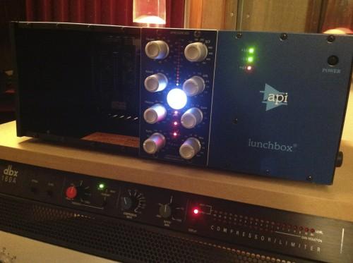Threecircles Recording Studio API Lunchbox