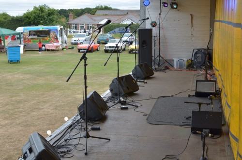 Threecircles Recording Studio - Setup for Eight Ash Green Festival