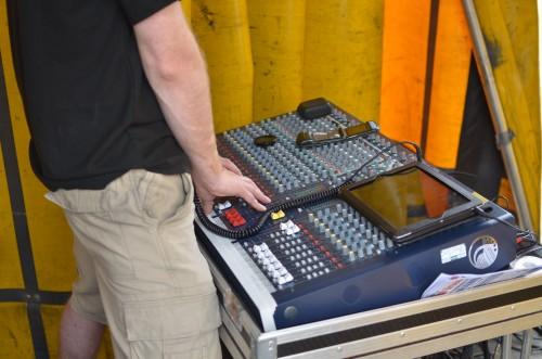 Threecircles Recording Studio - Engineering for Eight Ash Green Festival