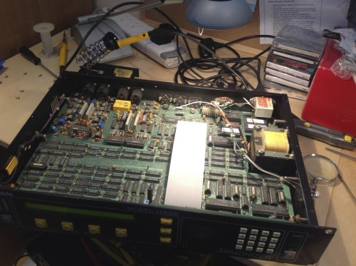 Threecircles Recording Studio - H3000 Inside