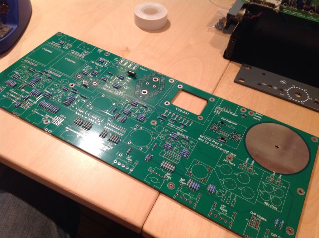 Threecircles Recording Studio AML ez1073 Build 03