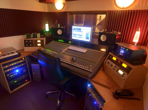 Threecircles Recording Studio Control Room