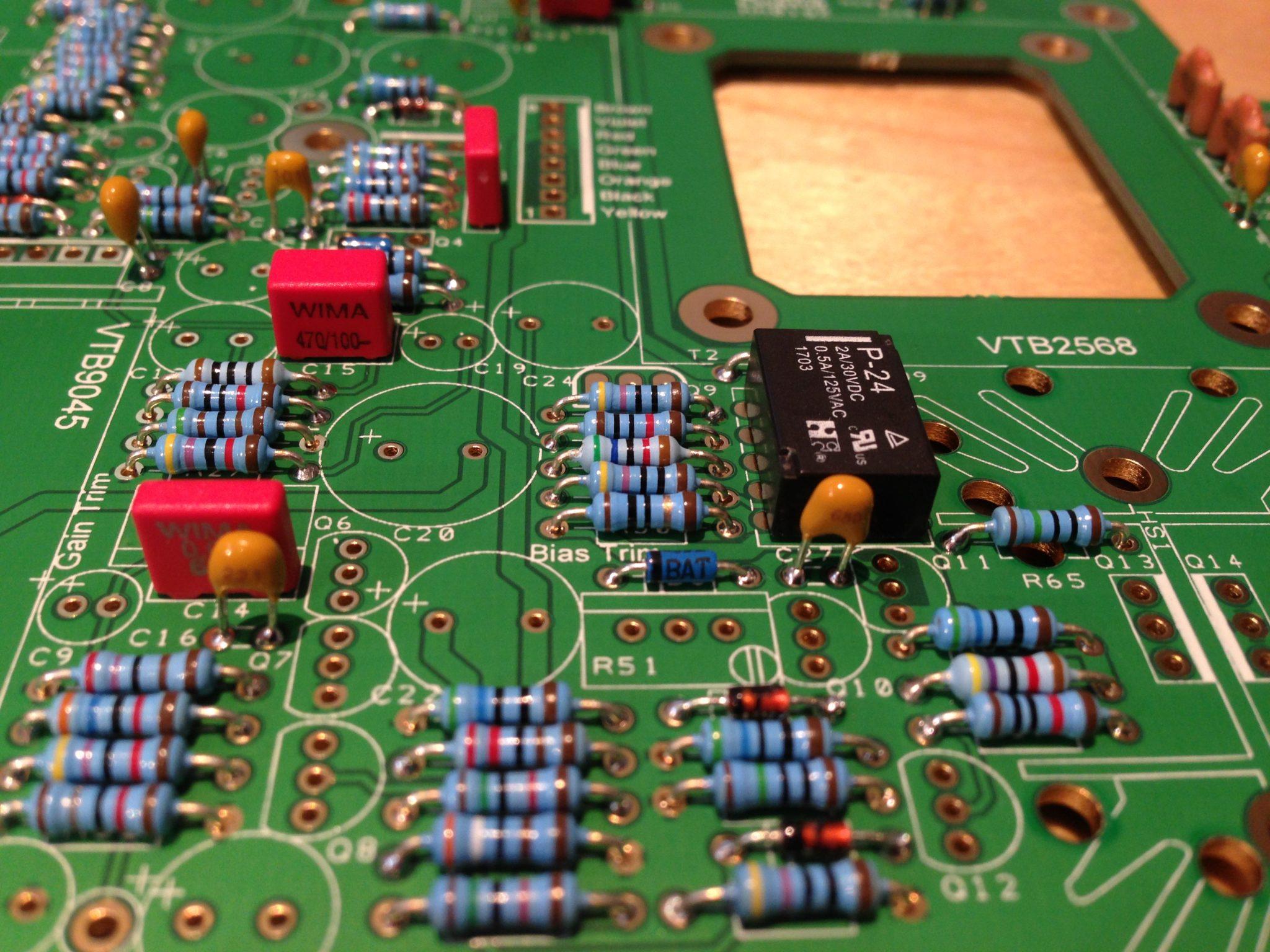 AML ez1081 Mic Pre  - WIMA Capacitors