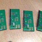 AML ez1081 Mic Pre - Sub PCB Sil Header