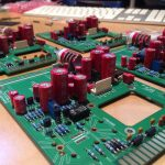 AML ez1081 Mic Pre - Large Electrolytics