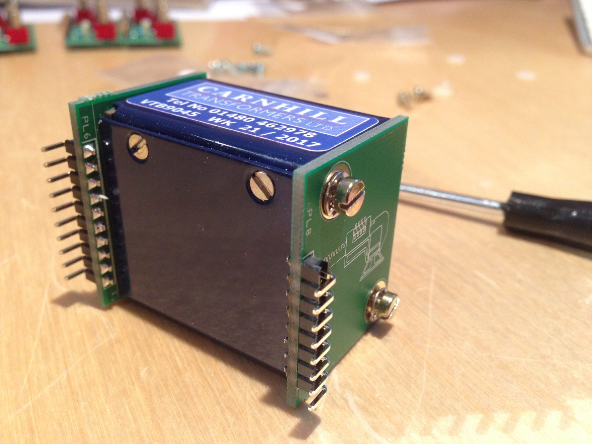 AML ez1081 Mic Pre - Input Transformer