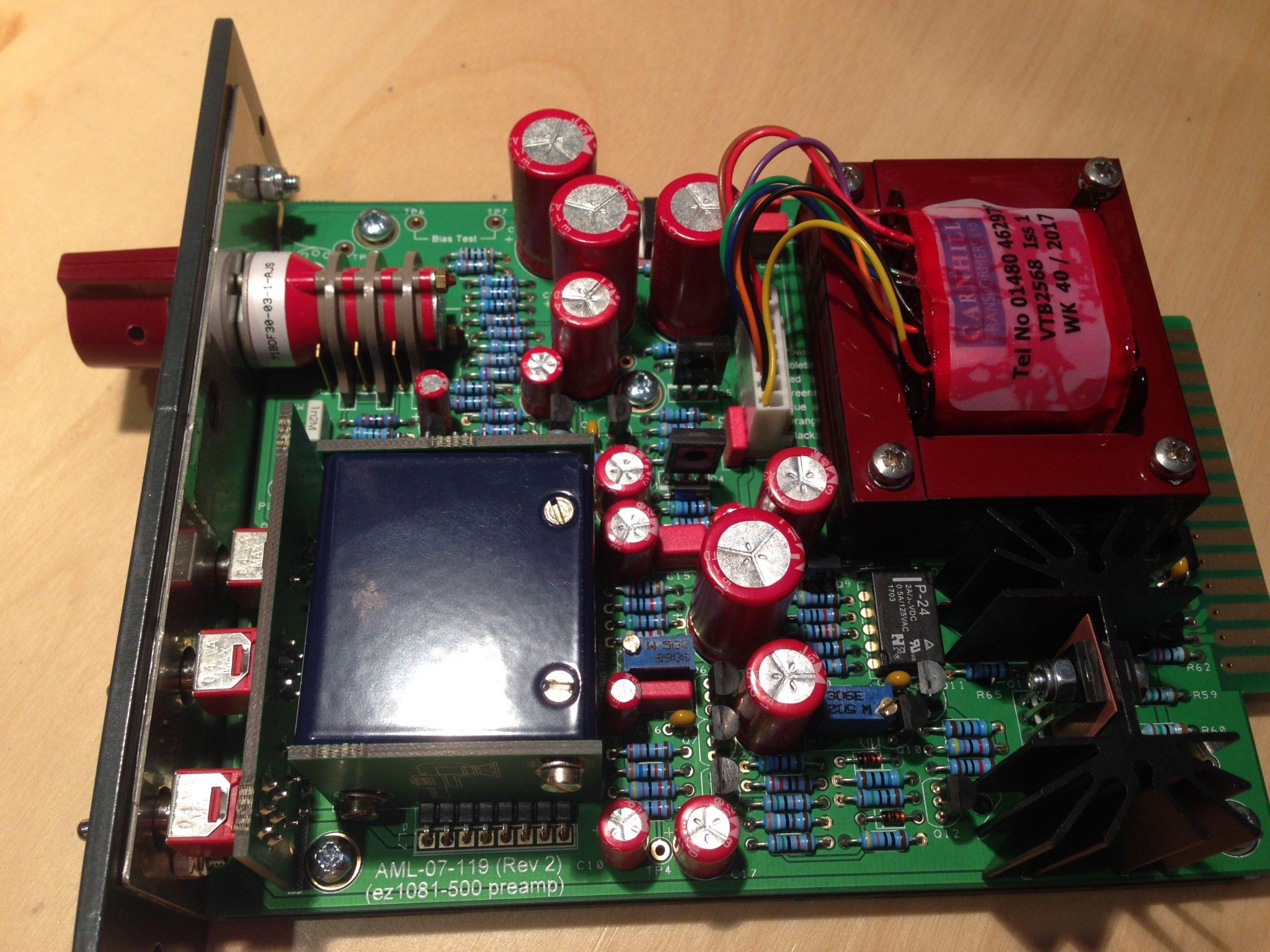 AML ez1081 Mic Pre - Audio Maintenance Limited