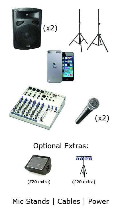 Threecircles Recording Studio - Small PA